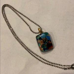 Jewelry - Italian glass pendant